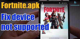 Fortnite apk For Xiaomi Redmi Note 7 - APK Fix