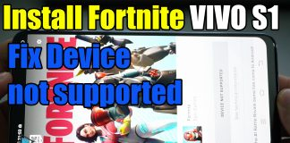 Fortnite apk V9 30 0 For Any Devices Fix DEVICE NOT SUPPORTED - APK Fix