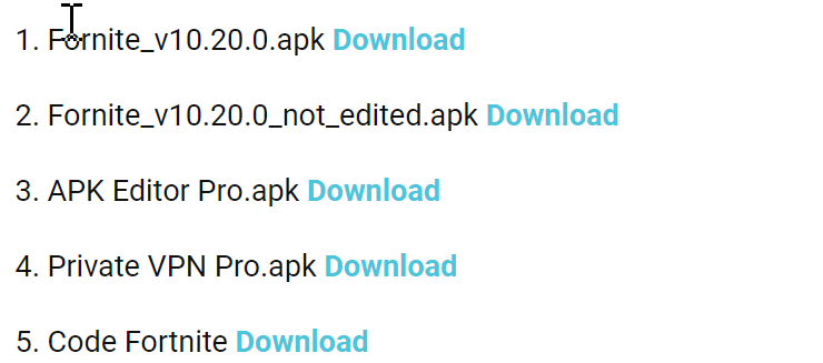 Downloads - APK Fix
